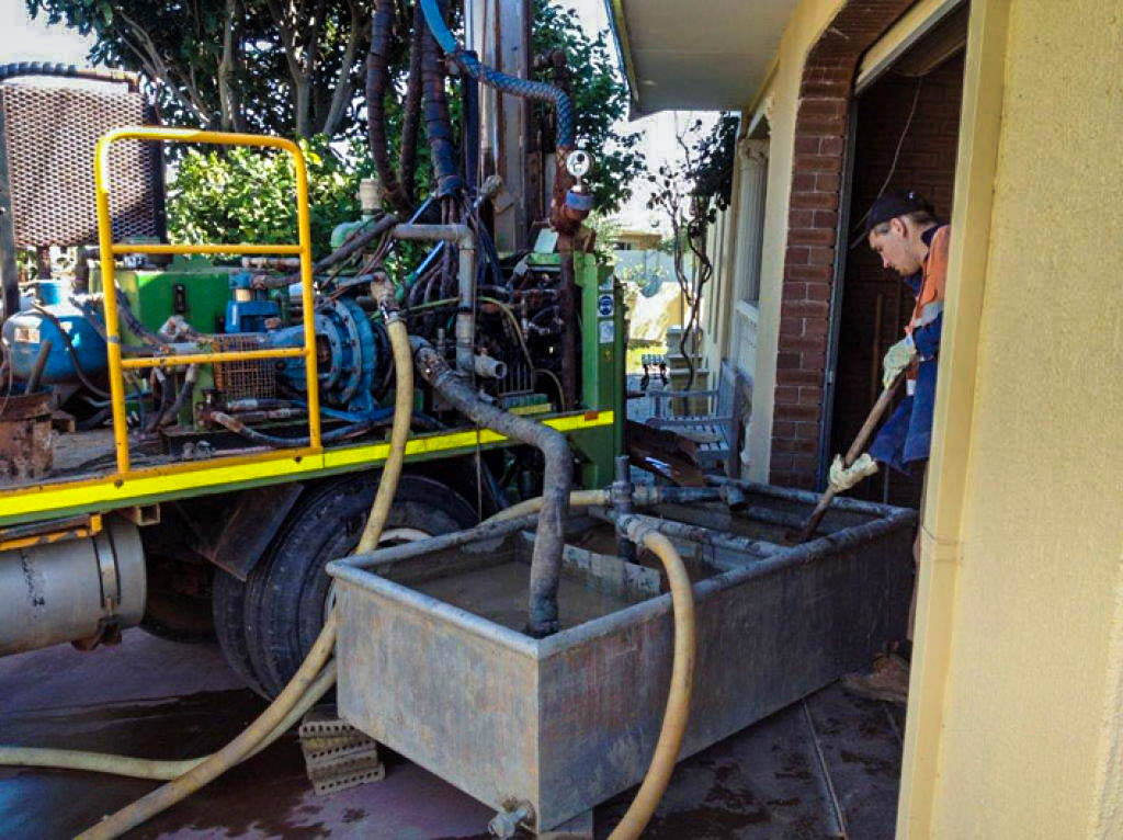 boring services, drilling, earthing, bore repairs