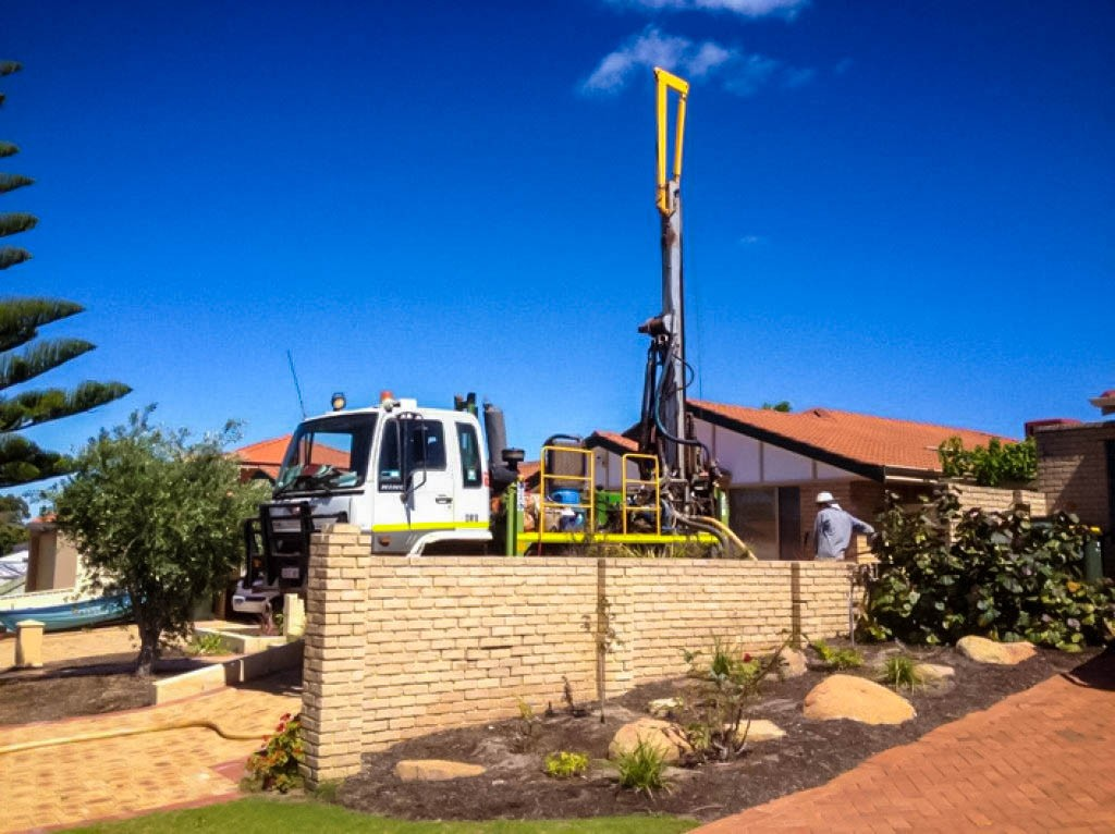boring services and installing water bore Perth